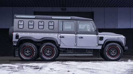 Kahn Design Land Rover Defender Civil Carrier