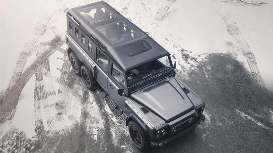 Kahn Design Land Rover Defender Civil Carrier