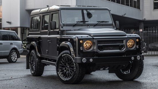 Kahn Design Land Rover Defender Volcanic Rock