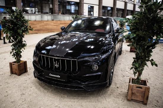 LARTE Design Maserati Levante Black Shtorm