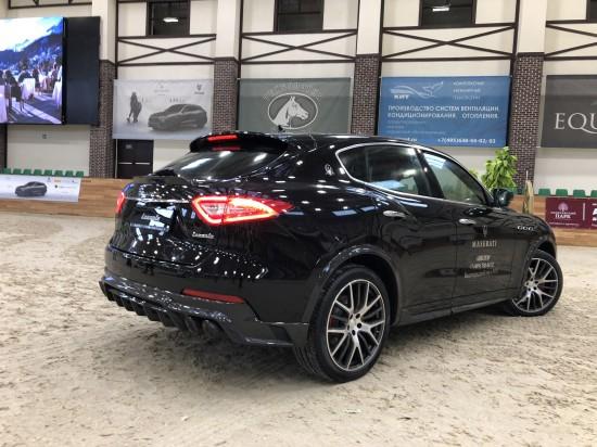 2018 LARTE Design Maserati Levante Black Shtorm - Picture