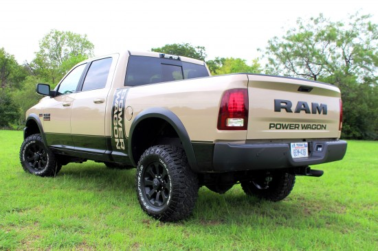 Ram Truck Power Wagon Mojave Sand Edition