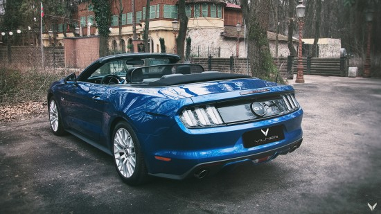 Vilner Ford Mustang GT Convertible Combo