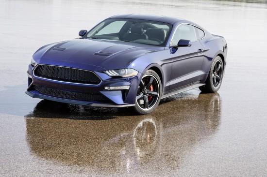 Ford Mustang Kona Blue