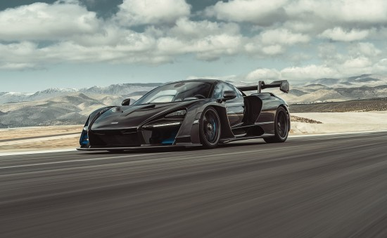 Mclaren Senna and LT600