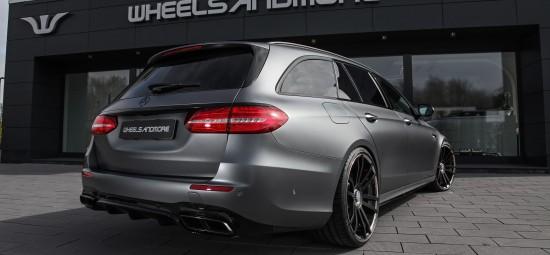 Mercedes E63 AMG Tuning