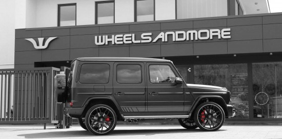 Mercedes G63 AMG Tuning up to 780hp