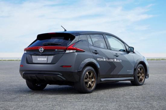 Nissan EV Test Vehicle