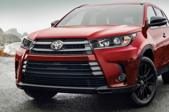 Toyota Nightshade Edition Models