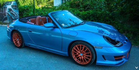 Vilner Porsche 911 Carrera Cabriolet