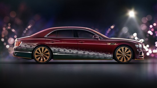 Bentley Santa's Flying Spur