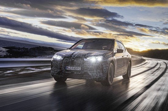 BMW iX new