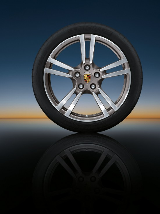 911 Turbo II wheels for the Panamera range