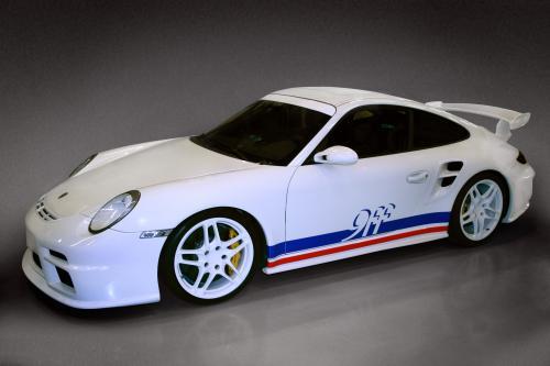 9ff GTurbo - 1000hp увеличила Porsche 997 GT3