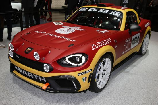 Abarth 124 Rally Geneva