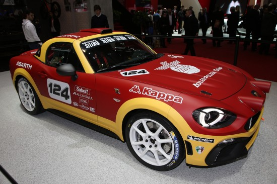 Abarth 124 Rally Geneva