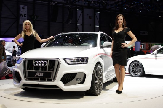 ABT Audi QS3 Geneva