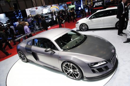 ABT Audi R8 GT R Geneva