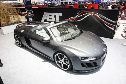 ABT Sportsline представлена настроены Audi R8 Spyder в Женеве 2010