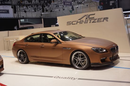 AC Schnitzer BMW 6 Series Gran Coupe Geneva