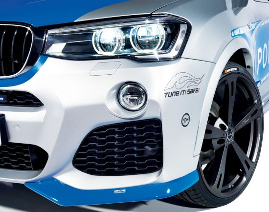 AC Schnitzer Tune It Safe Police BMW X4 20i