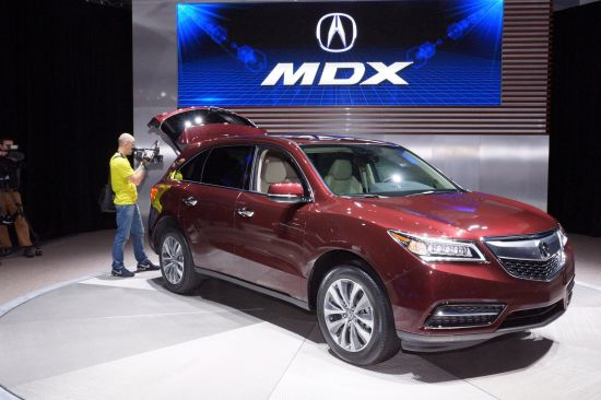 Acura MDX New York