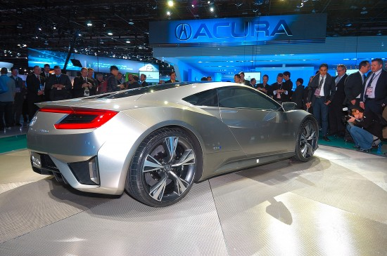 2010 Acura NSX Concept photo - 2