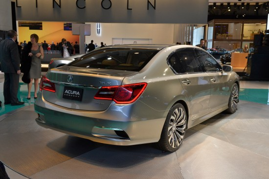 Acura NSX concept New York