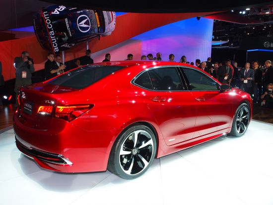 Acura TLX Detroit