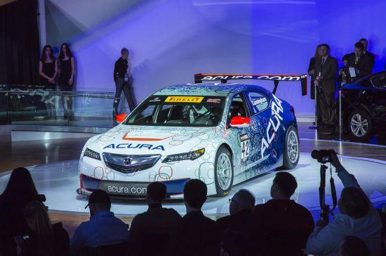 Acura TLX GT Race Car Detroit