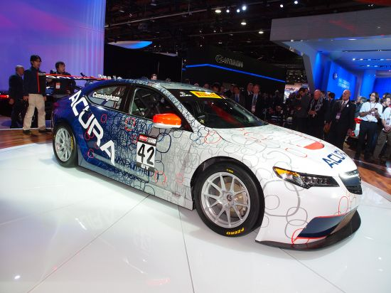 Acura TLX GT Race Car Detroit