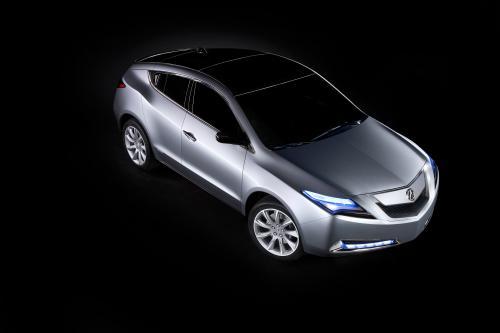 Новый Acura ZDX дебютирует на New York International Auto Show - фотография acura