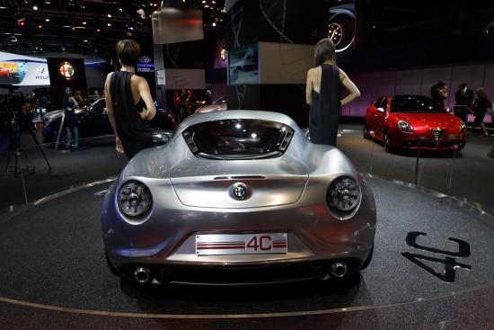 Alfa 4C Frankfurt