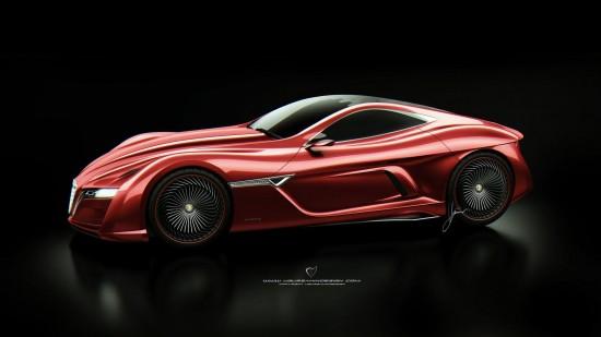 Alfa Romeo 12C GTS Concept