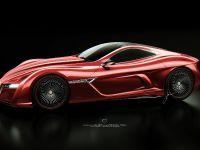 Alfa Romeo 12C GTS Concept, 7 of 14