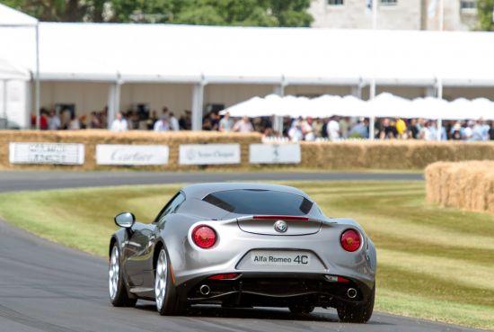 Alfa Romeo 4C  Goodwood Festival of Speed