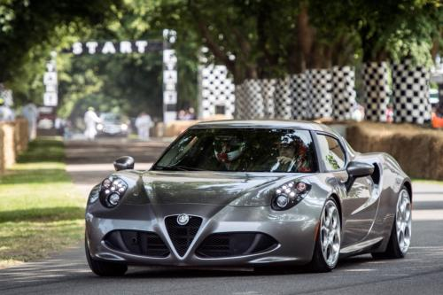 Alfa Romeo 4C в 2013 Goodwood Festival of Speed