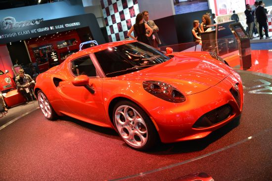 Alfa Romeo 4C Frankfurt