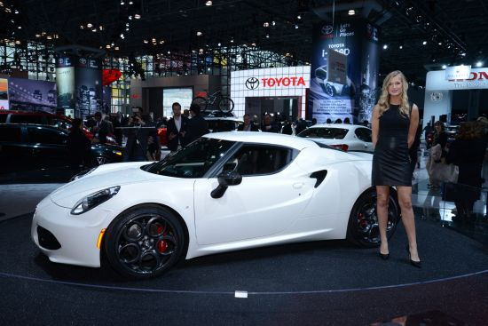 Alfa Romeo 4C New York