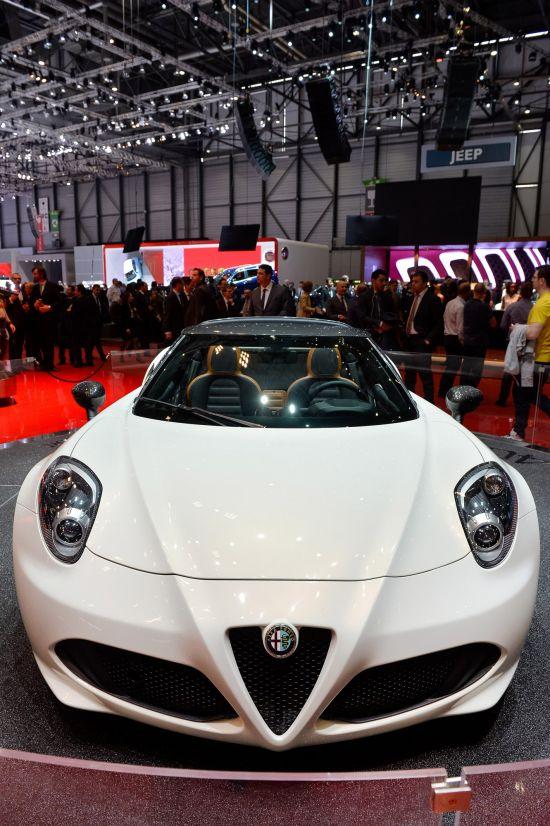 Alfa Romeo 4C Spider Geneva