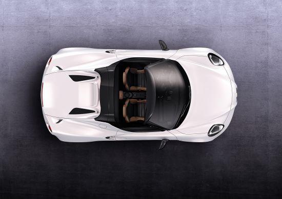 Alfa Romeo 4C Spider Prototype