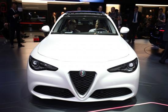 Alfa Romeo Giulia Geneva