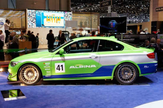 Alpina BMW 3-Series racing Geneva