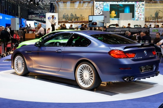 Alpina BMW B6 Bi-Turbo Coupe Geneva