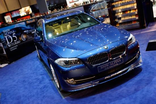 Alpina BMW D5 Bi-Turbo Touring Geneva
