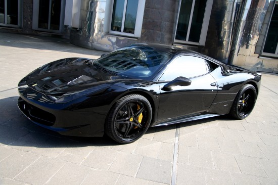 ANDERSON GERMANY Ferrari 458 Black Carbon edition