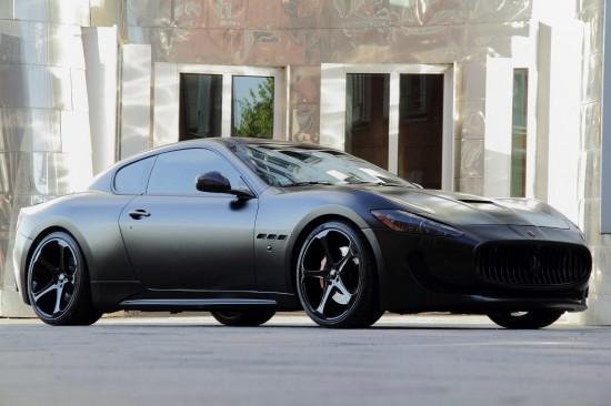 Anderson Germany Maserati GranTurismo S Superior Black Edition