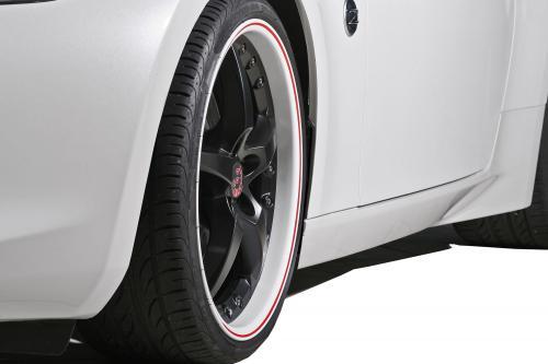 APP Europe Nissan 370Z - Белый, смелый и спортивный