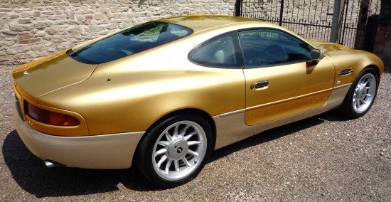 Aston Martin DB7 24-carat