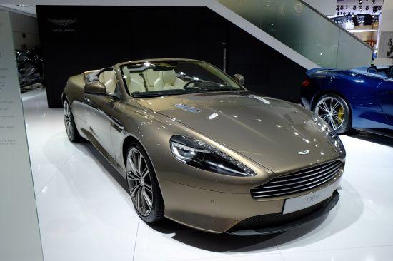 Aston Martin DB9 Frankfurt